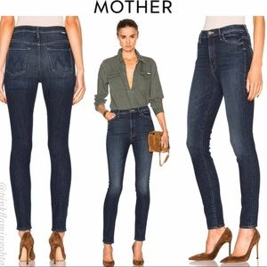 *MOTHER* Super Swooner High Rise Skinny Jeans